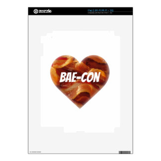 BAE-CON - For Bacon Lovers Everywhere Decal For iPad 2