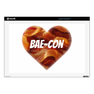 """BAE-CON - For Bacon Lovers Everywhere Skin For 17"""" Laptop"""