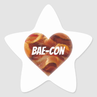 BAE-CON - For Bacon Lovers Everywhere Star Sticker
