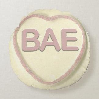 bae loveheart round pillow
