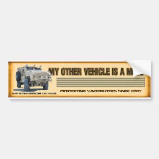 BAE RG-33 USSOCOM Bumper Sticker