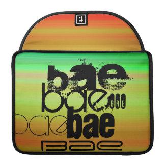 Bae; Vibrant Green, Orange, & Yellow Sleeve For MacBooks