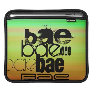 Bae; Vibrant Green, Orange, & Yellow Sleeves For iPads