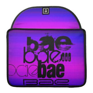 Bae; Vibrant Violet Blue and Magenta MacBook Pro Sleeve
