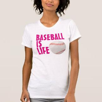 Baeball es camisetas de la vida