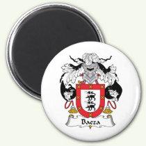 Baeza Family Crest Magnet