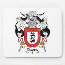 Baeza Family Crest Mousepad