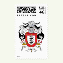 Baeza Family Crest Stamps
