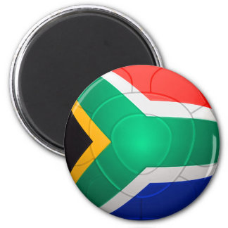 Bafana Bafana - South Africa Football 2 Inch Round Magnet