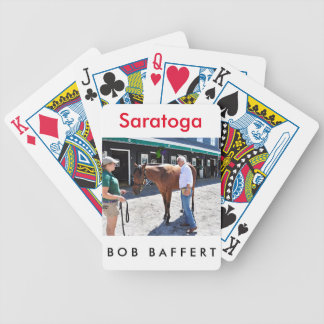 Baffert Checking under the Hood Bicycle Playing Cards