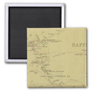 Baffin Bay journey 2 Inch Square Magnet