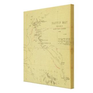 Baffin Bay journey Canvas Print