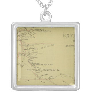 Baffin Bay journey Silver Plated Necklace