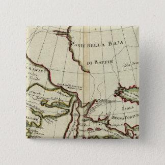 Baffin Bay North Atlantic Ocean Pinback Button