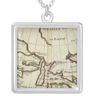 Baffin Bay North Atlantic Ocean Silver Plated Necklace