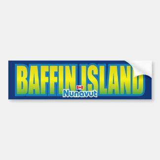 Baffin Island Bumper Car Bumper Sticker