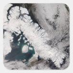 Baffin Island Square Sticker