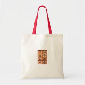 Bag. 8 auspicious symbols. tote bag