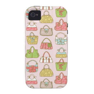Bag-a-Holic (Pink) iPhone 4/4S Case