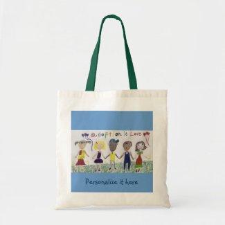 Bag, Adoption Is Love bag