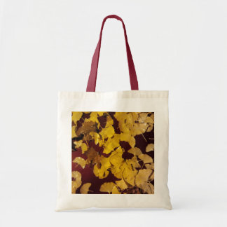 Bag (Budget Tote) with yellow leaves