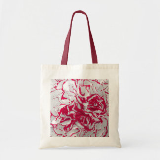 Bag - Carnation in Red & White