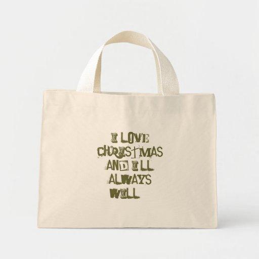 Bag - Christmas Quote