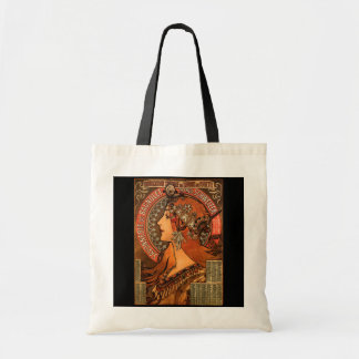 Bag-Classic Art-Mucha-Savonnerie Tote Bag