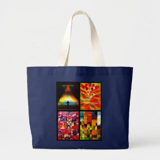Bag-Classic/Vintage-Paul Klee Collection Large Tote Bag