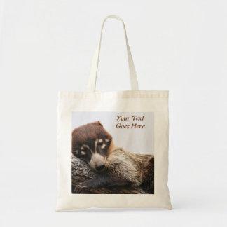 Bag: Coatimundi #4 (Budget) Tote Bag