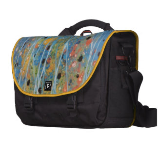 Bag - Commuter Laptop with hand-painted artwork Commuter Bags