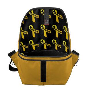 Bag del mensajero de la endometriosis del interior bolsas de mensajeria