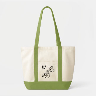 Bag: Dragonfly and Butterfly Tot Bag. Tote Bag