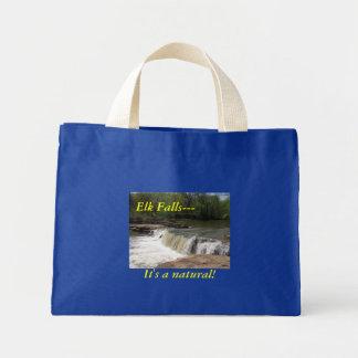 Bag:  Elk Falls--- It's a natural! Mini Tote Bag