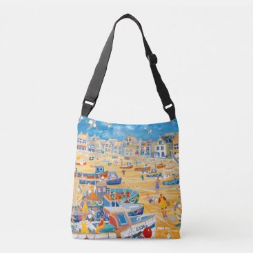 Beach Themed Bag featuring St Ives,Cornwall by artist John Dyer