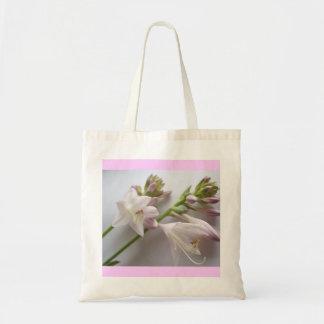Bag-Flowers-Pink & White Flowers Tote Bag