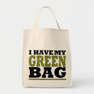 bag green bag design by ambi. G