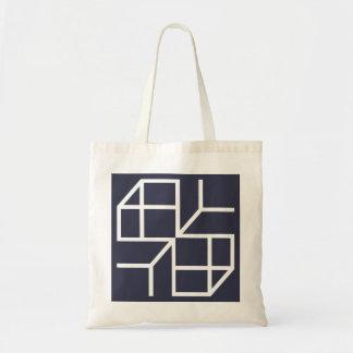 "Bag Hold-all ""Blue Shape """