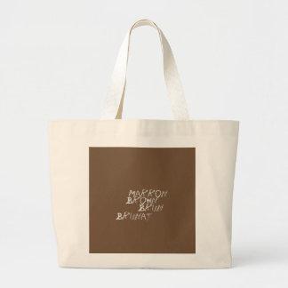 Bag hold-all Maroon Brown jumbo