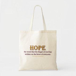 Bag: Hope Budget Tote Bag