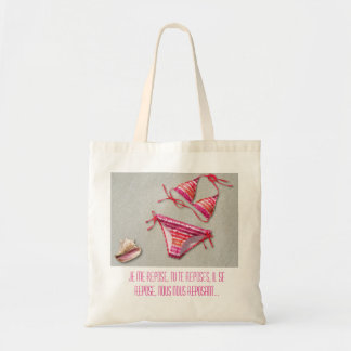 Bag in fabric furnace all I rest of Lili-pink