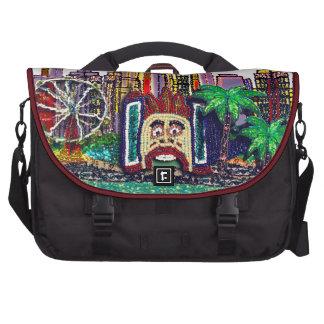 Bag | Luna Park Sydney Sequin Art Print Commuter Bags