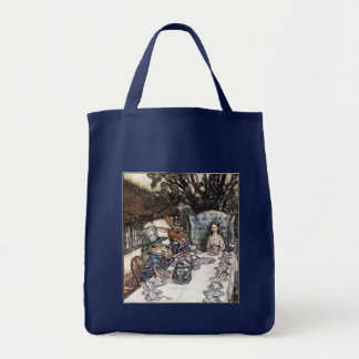 Bag:  Mad Hatter Tea Party - Rackham Tote Bag