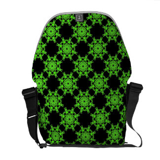 Bag Messenger Green Vision