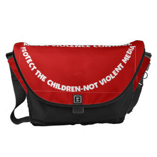Bag-Messenger-Protect Thy Children Courier Bag