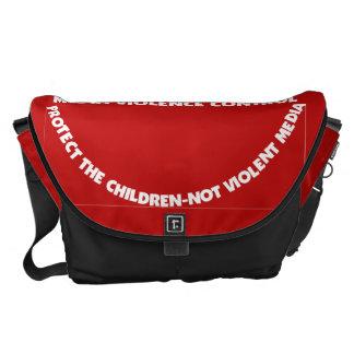 Bag-Messenger-Protect Thy Children Messenger Bags