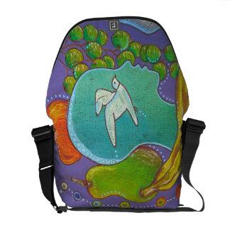 Bag messenger vegan Liberty bird