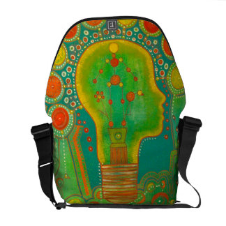 Bag messenger vegan light bolsas de mensajería