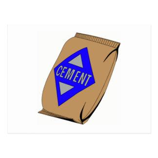 Bag of Cement Postcard