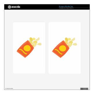 Bag of Chips Kindle Fire Skins
